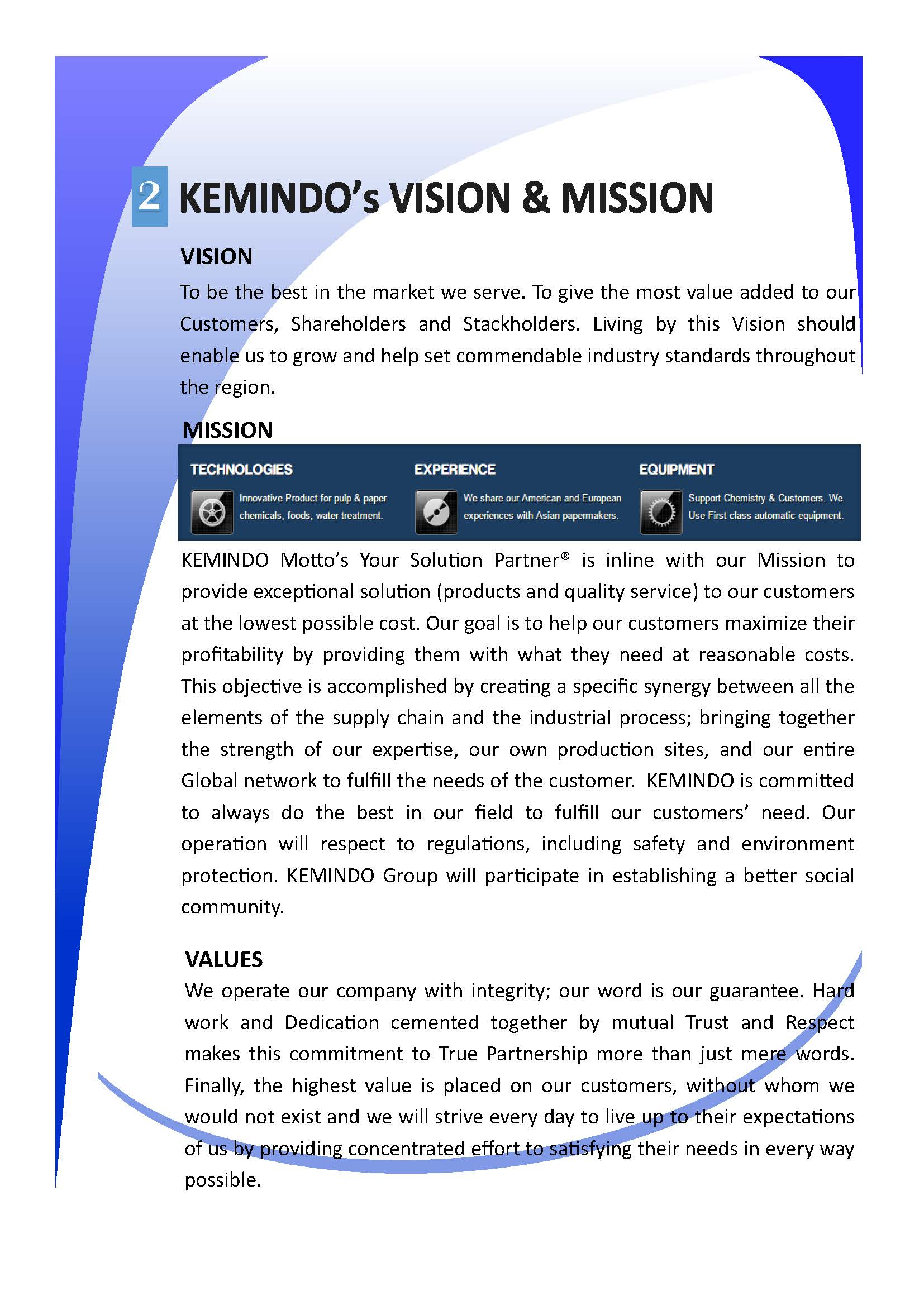 Kemindo - Your Solution Partner®